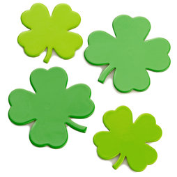 LIV-68, Clover, strong fridge magnets, set of 4