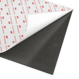 NMS-A4-STIC, Self-adhesive magnetic sheet neodymium, with extra-strong adhesive force, A4 format