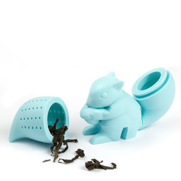 M-71, Tea infuser Squirrel, silicone tea infuser, non-magnetic!