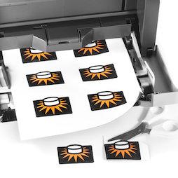 MIP-A4-02, Magnetic paper matt, printable, A4 format, 10 sheets per set